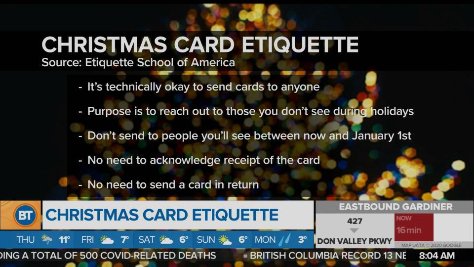 How do you feel about Christmas cards?
