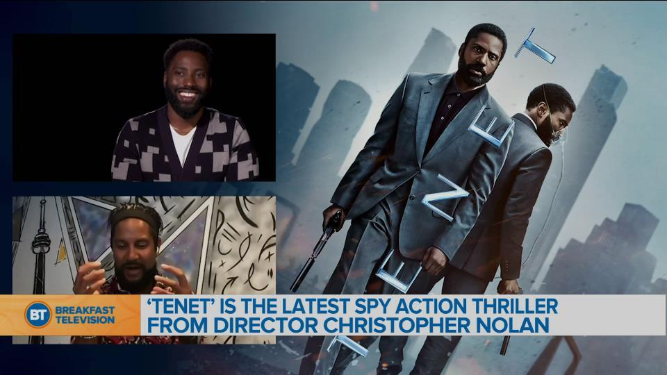 'Tenet' is the latest spy action thriller from Director Christopher Nolan