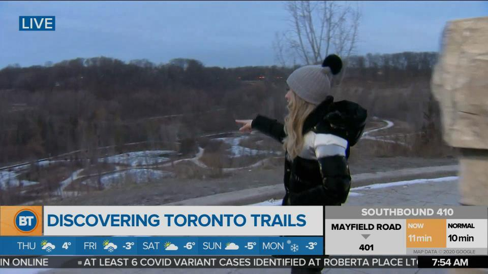 Nicole is LIVE at Evergreen Brick Works Trails (2 of 3)