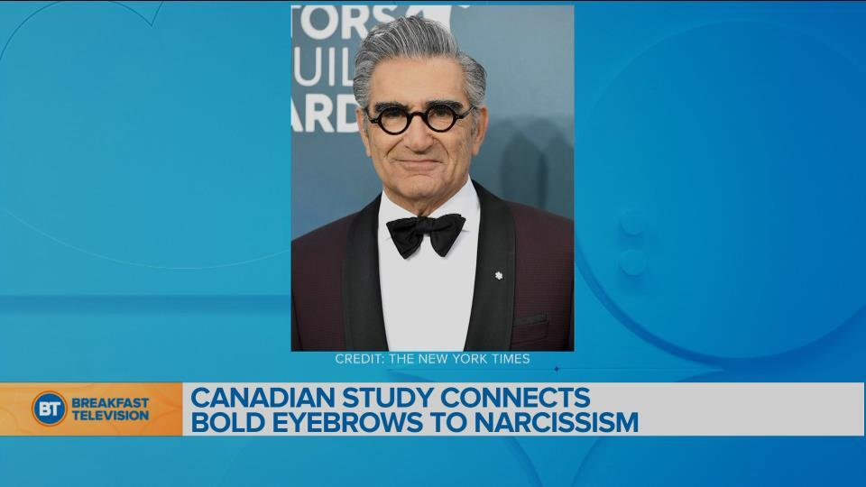 Canadian study connects bold eyebrows to narcissism