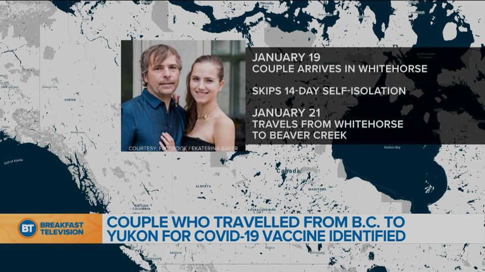 Rich Couple Traveled From B.C. to the Yukon to Get the COVID-19 Vaccine