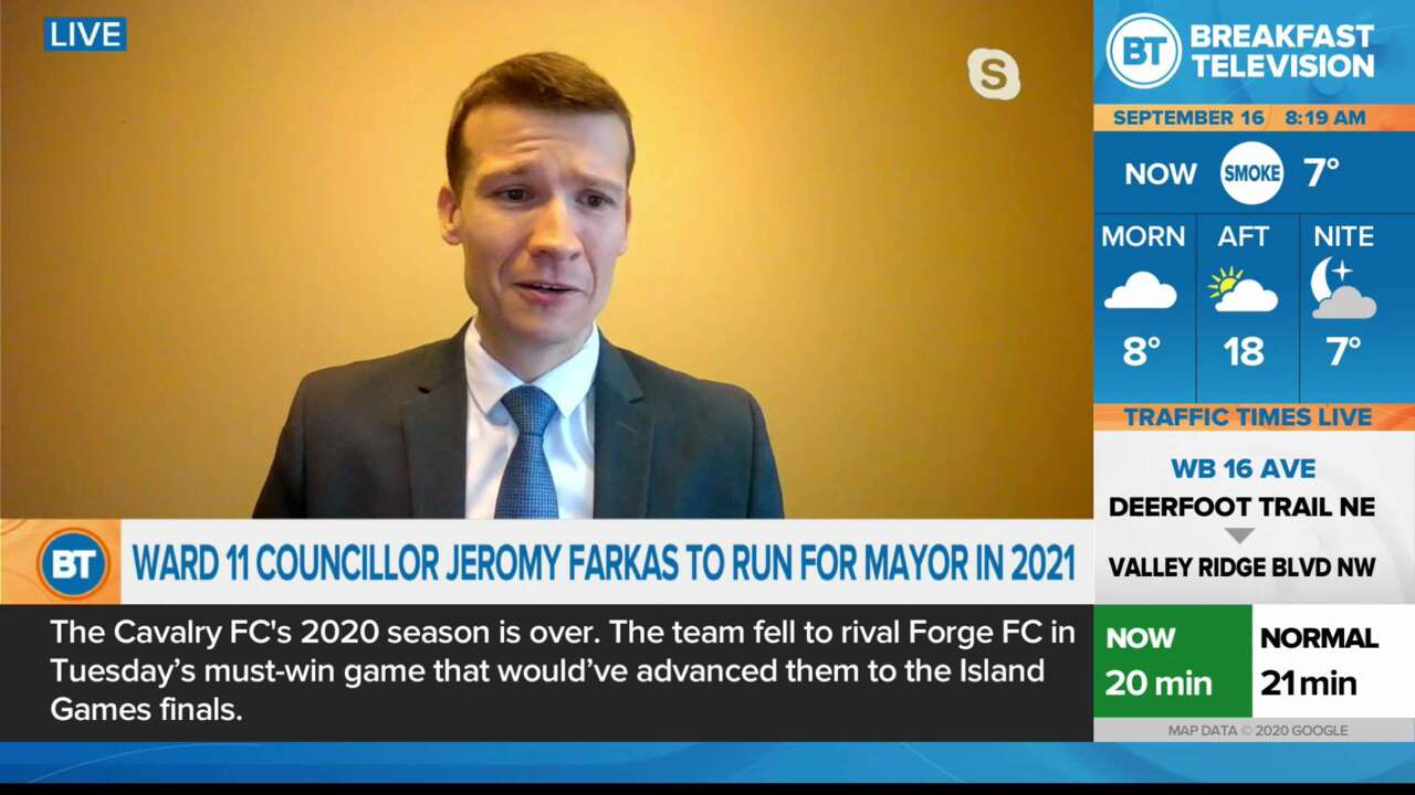 Ward 11 Councillor Jeromy Farkas to run for Mayor in 2021