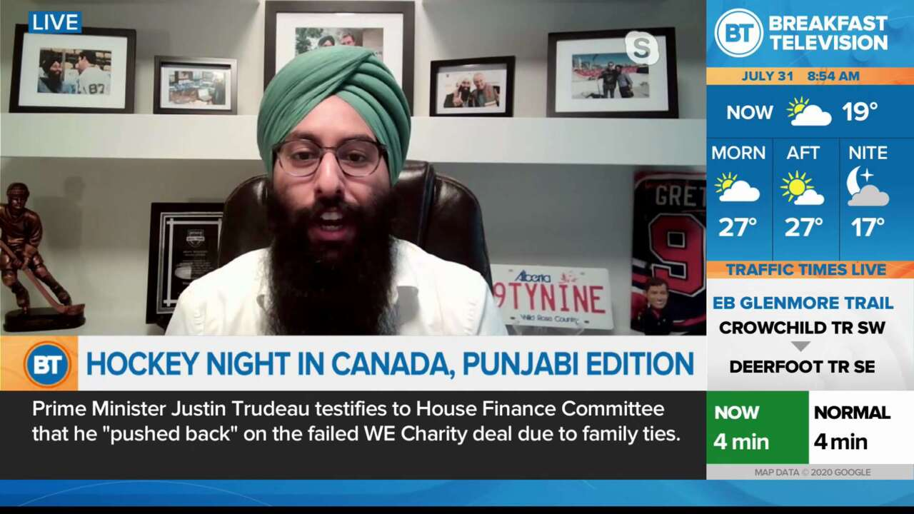 Hockey Night in Canada Punjabi Edition
