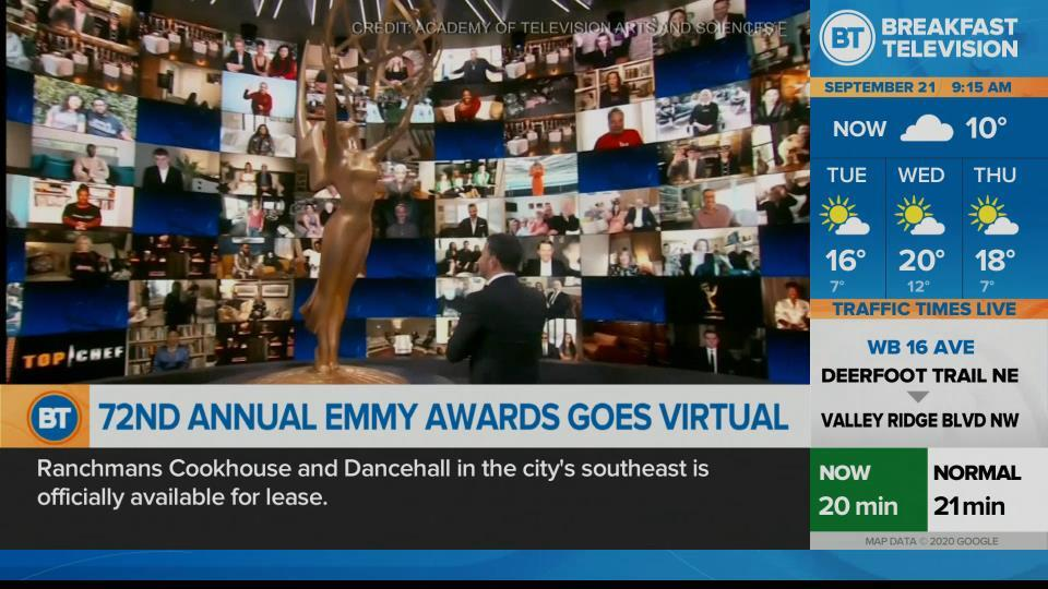 72nd Annual Emmy Awards go virtual.