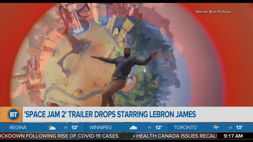 BT Entertainment: 'Space Jam 2' Trailer Drops Starring LeBron James