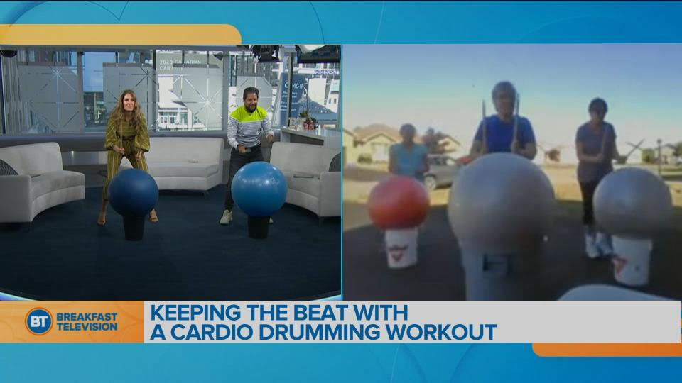 Movin' in the Morning: Bucket Drumming