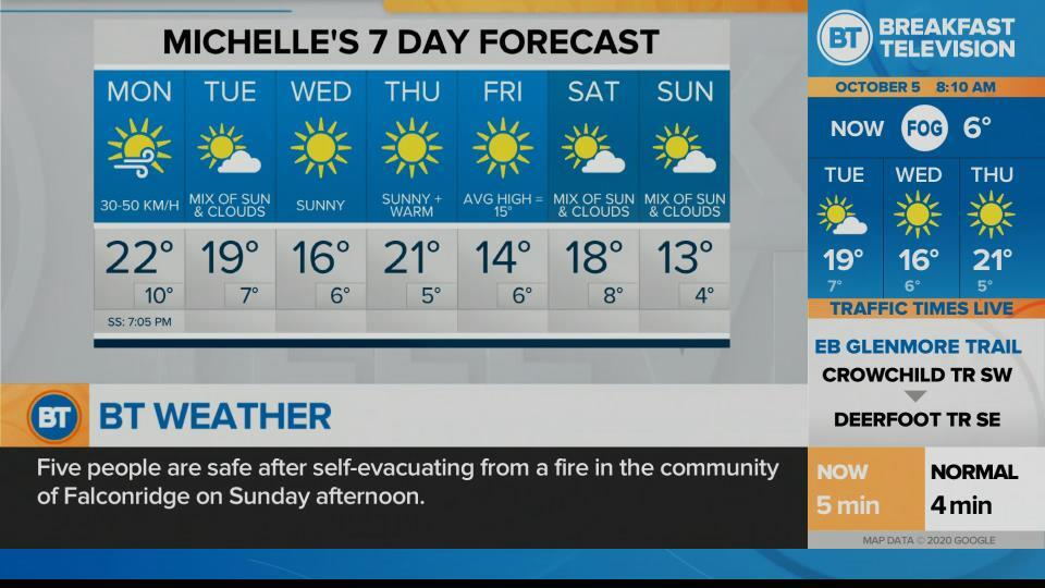 Michelle's 7 Day Forecast