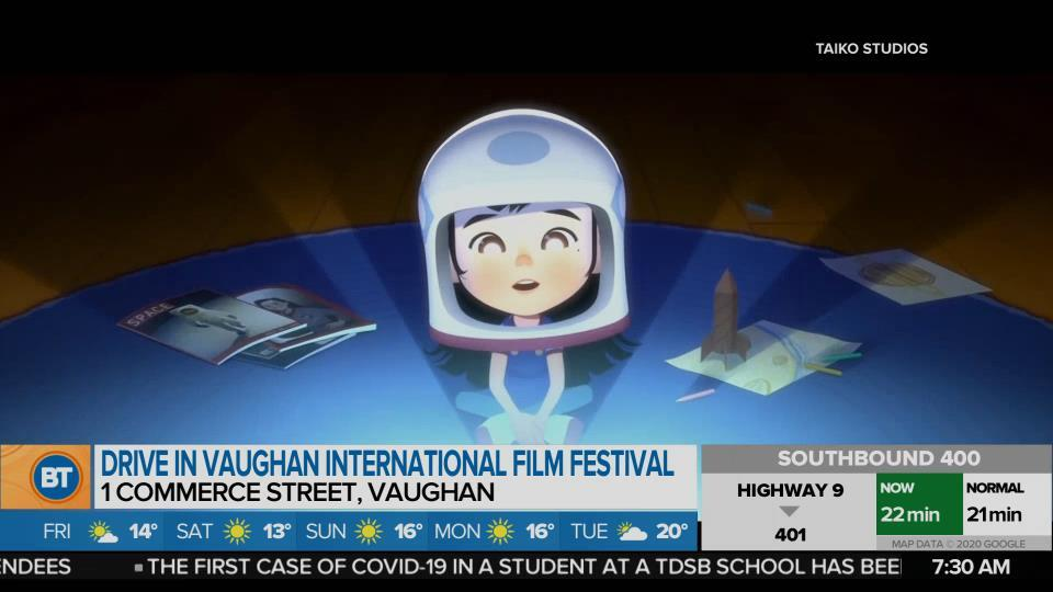 The Vaughan International Film Festival is now a socially distanced Drive-In!