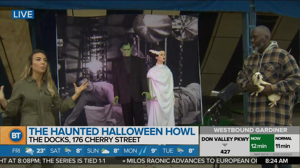 Nicole is LIVE at Haunted Halloween Howl (4 of 4)