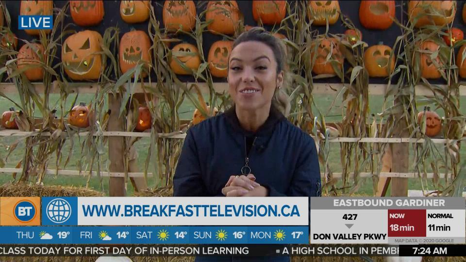 Nicole is LIVE at Pumpkins After Dark (2 of 5)