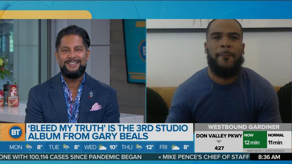 Canadian R&B singer Gary Beals chats about his new album 'Bleed My Truth'