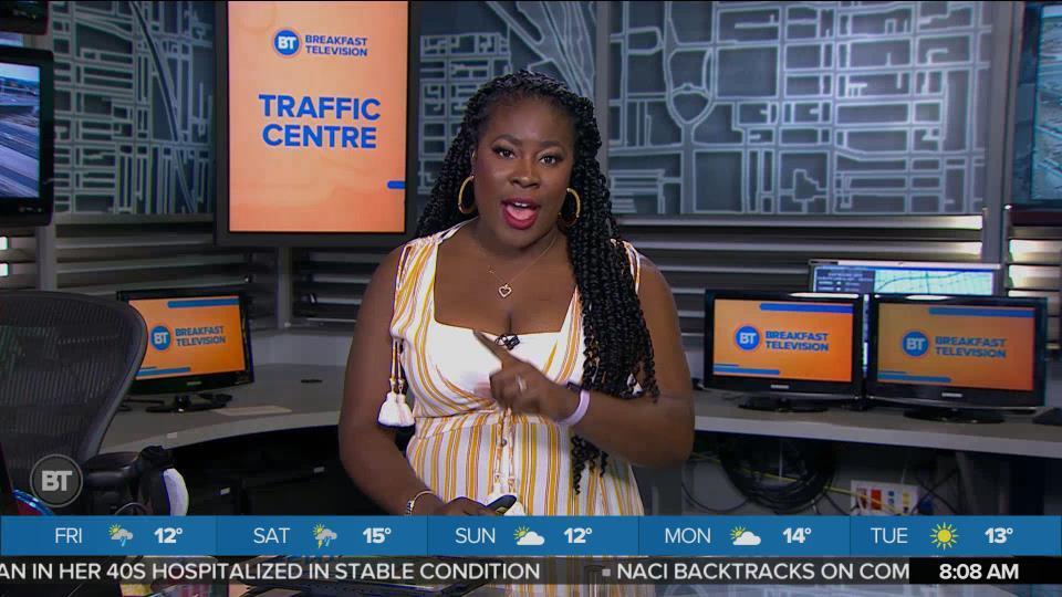 BT Traffic @ 8:00am!