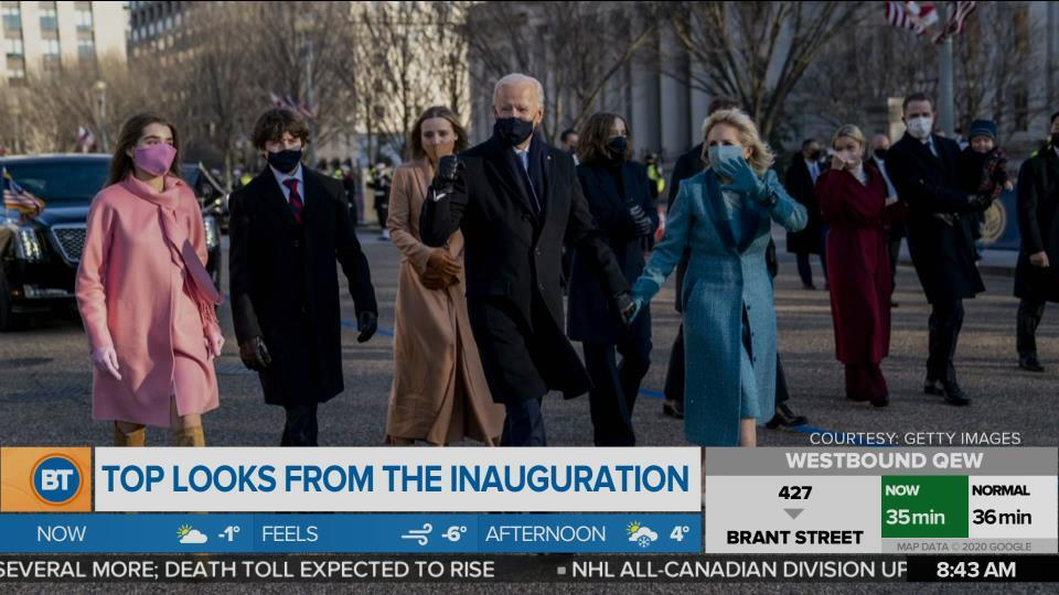 Taking a Look at the Inauguration Fashion