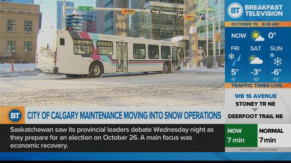 City road crews prepare for wintry weekend