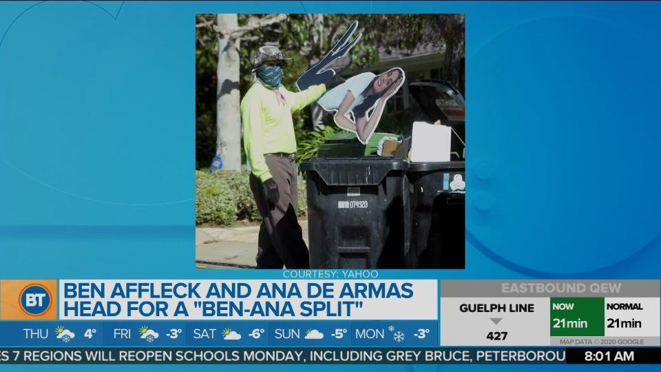 It's a 'Ben-Ana Split' for Ben Affleck and Ana Des Armas
