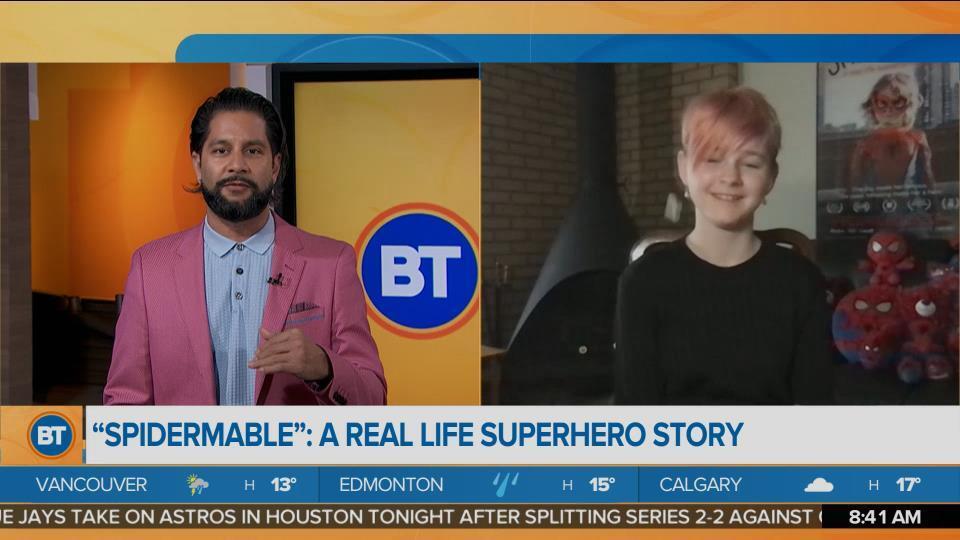 Edmonton's Real-Life Superhero 'SpiderMable'