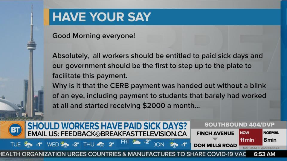 Should Workers Have Have Paid Sick Days? (2)