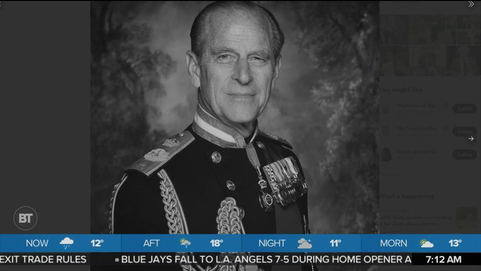 HRH Prince Philip Has Died at the Age of 99