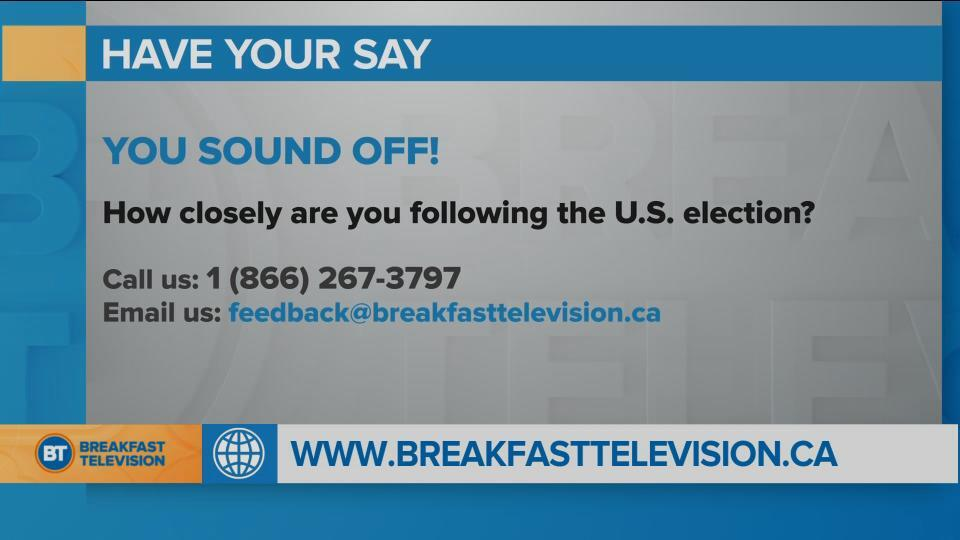How closely are you following the U.S. election?