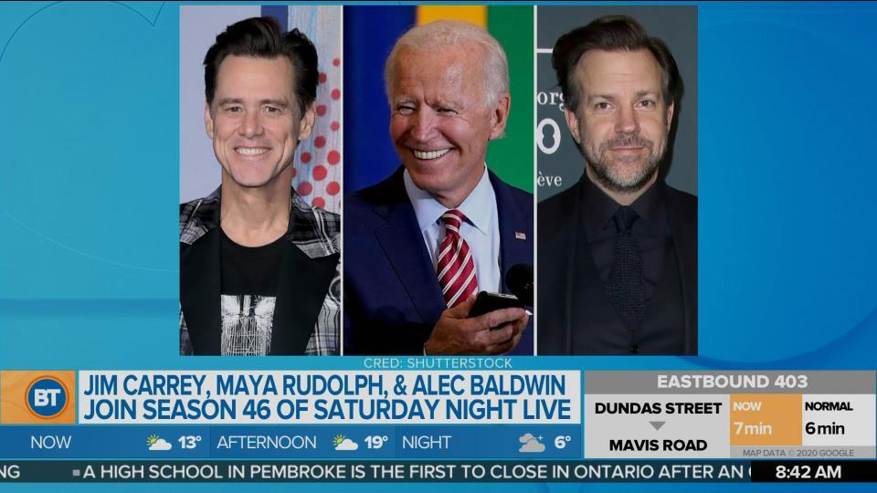 BT Entertainment: Jim Carrey, Maya Rudolph, & Alec Baldwin join season 46 of 'Saturday Night Live'