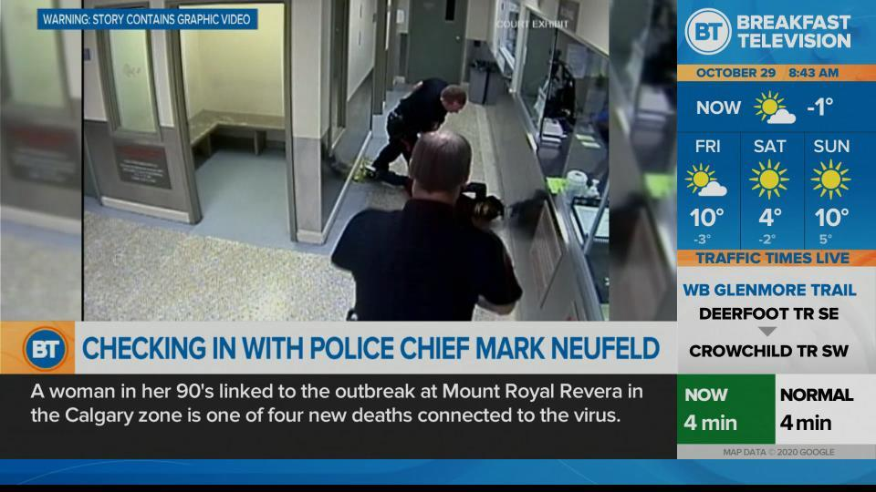 Checking-in with Police Chief Mark Neufeld