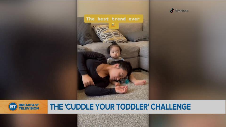 BT Bright Spot: cuddle your toddler challenge
