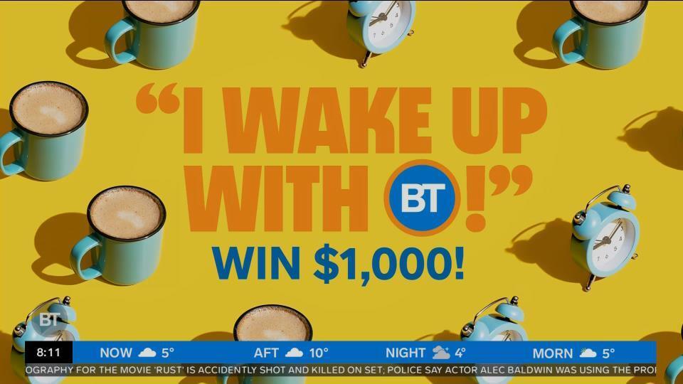 WINNER: I Wake Up With BT!