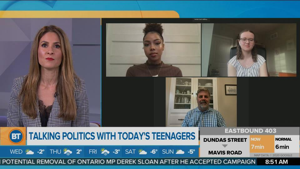Talking Politics With Young Teens