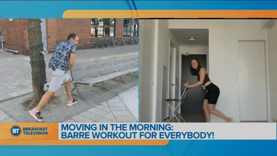 Movin' in the Morning: Barre Class!