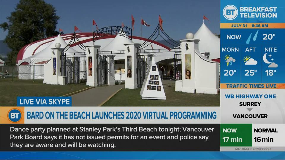 Bard on the Beach goes virtual