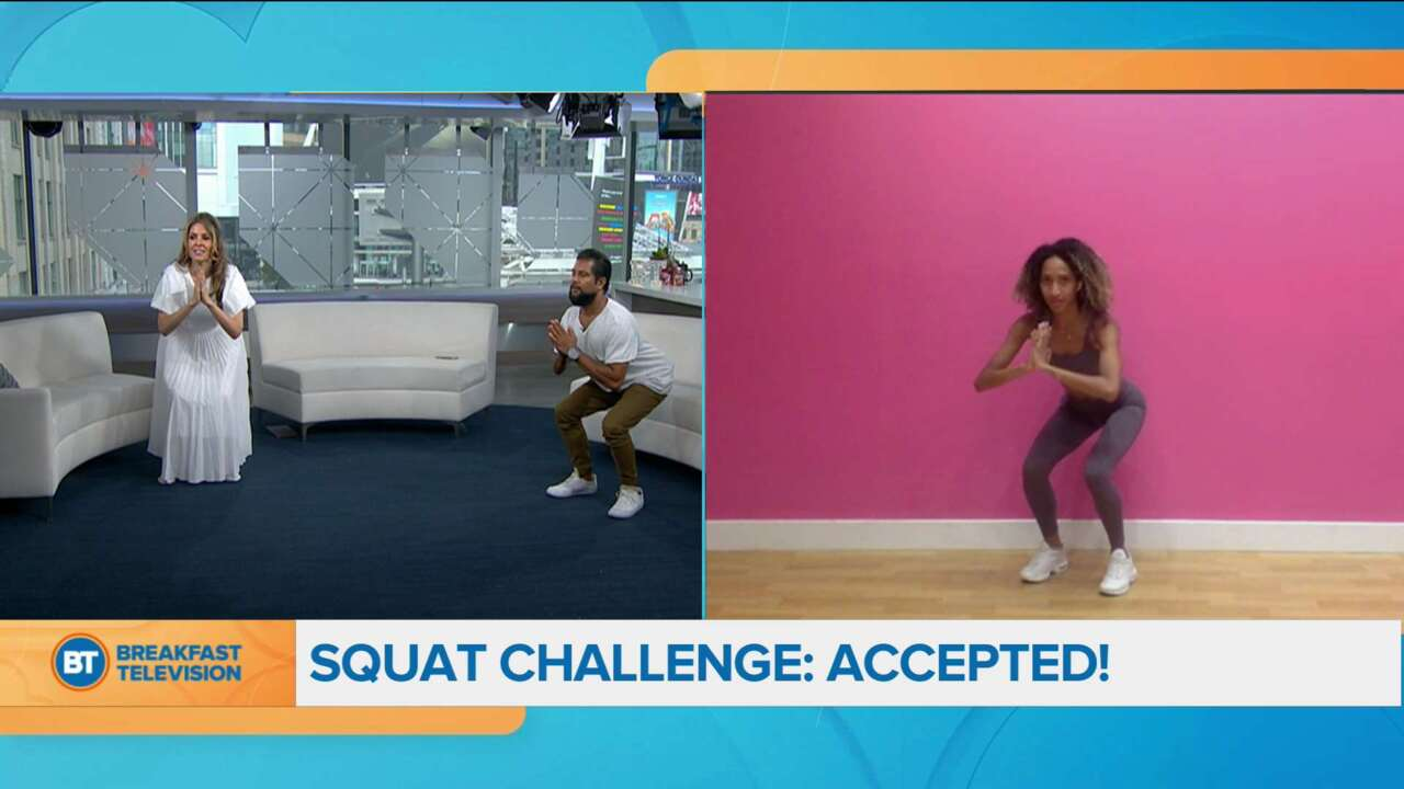 Movin' in the Morning: Squat Challenge