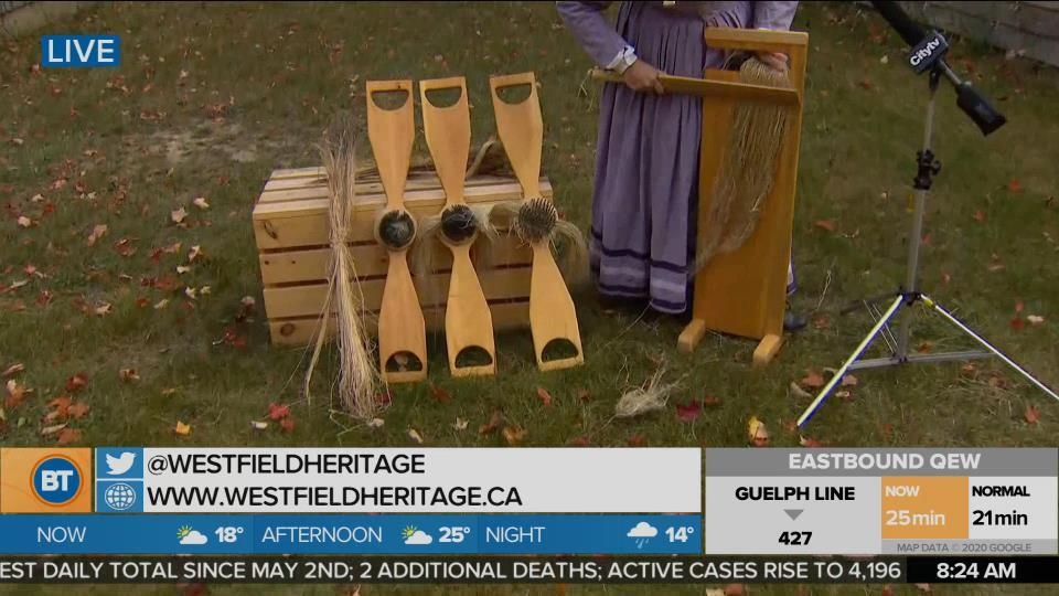 Nicole is LIVE at Westfield Heritage Village Conservation Area (4 of 4)