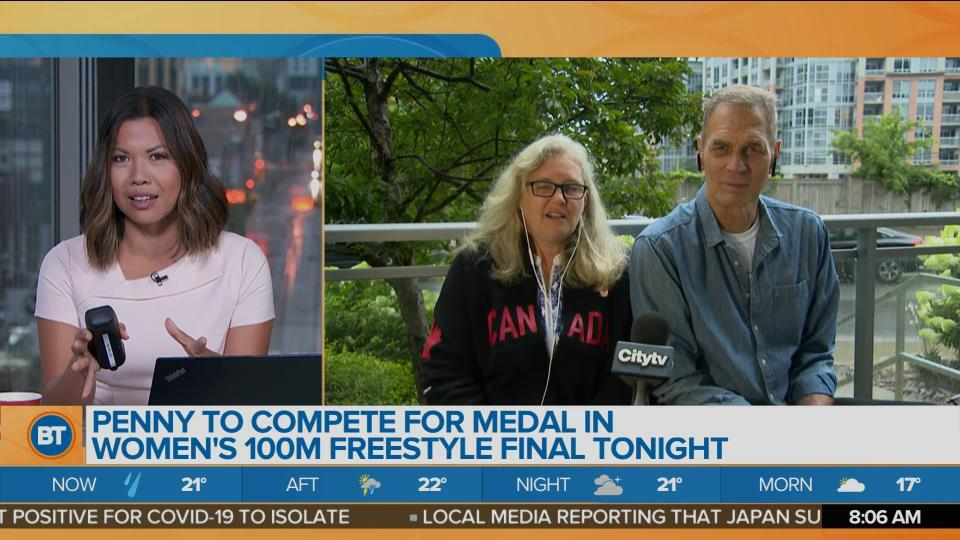 LIVE With Penny Oleksiak's Parents