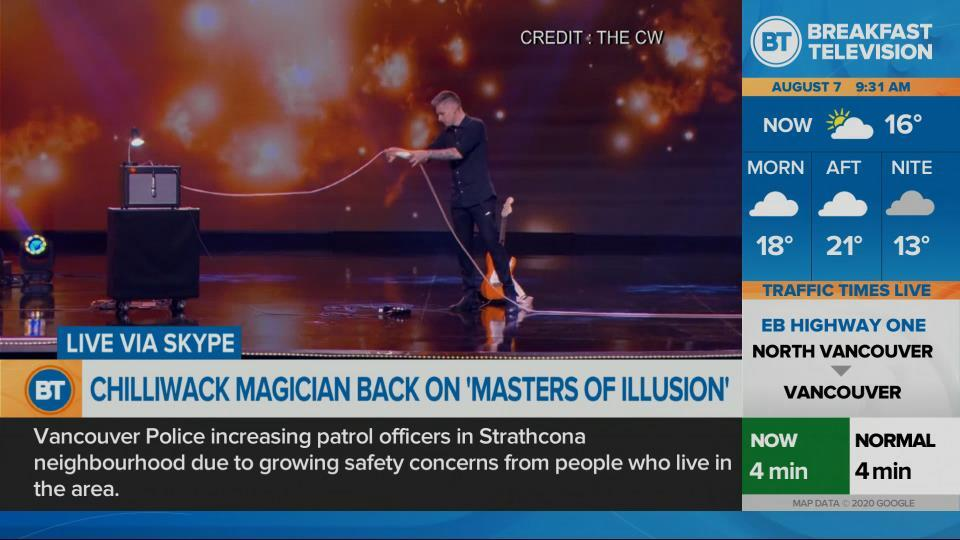 Local magician returns to 'Masters of Illusion'
