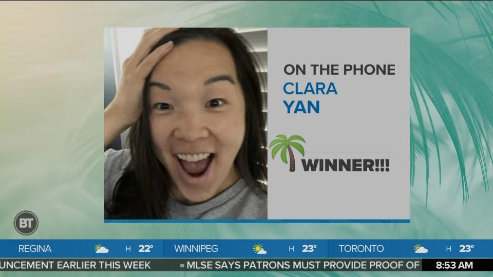 The Palms Beaches Trip Giveaway Winner Reveal