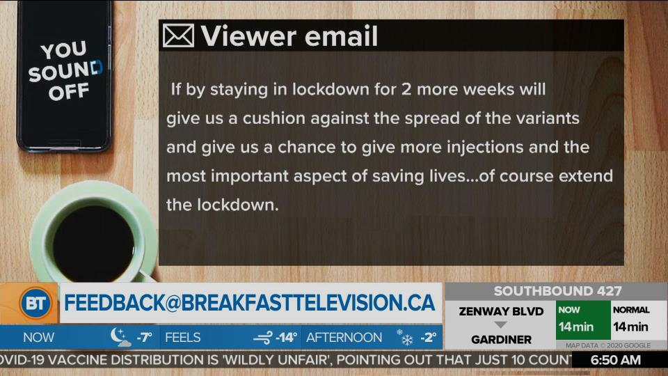 Do You Agree With Dr. Eileen De Villa's Recommendations for Two More Weeks of Lockdown? (2)