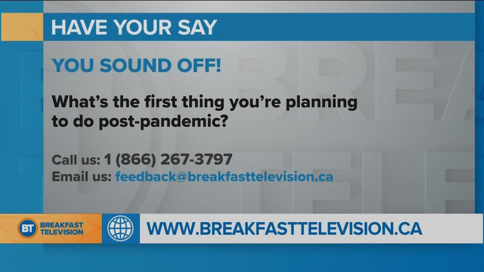What's the First Thing You're Planning to Do Post-pandemic?