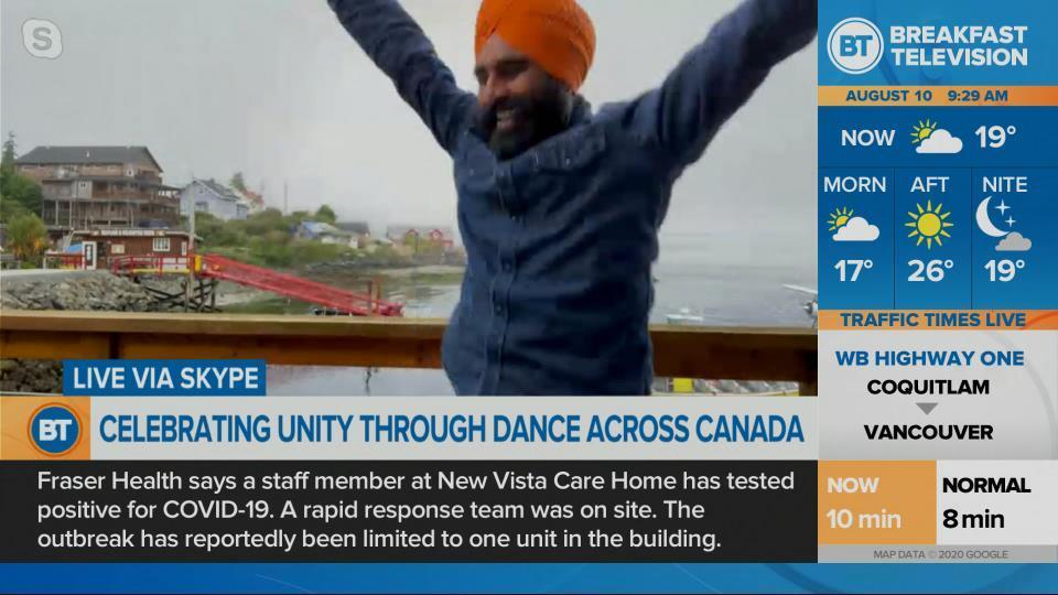 Gurdeep Pandher visits B.C.