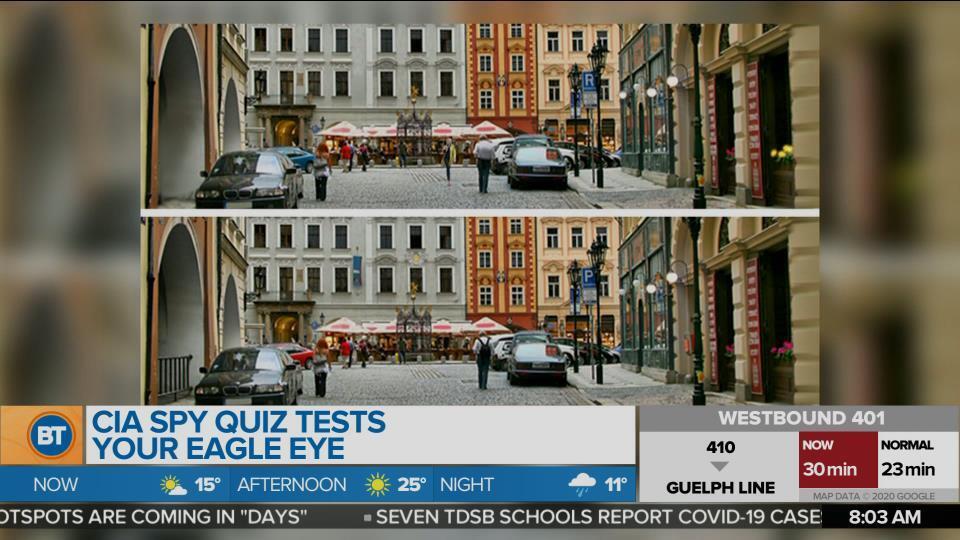 CIA Spy quiz tests your eagle eye