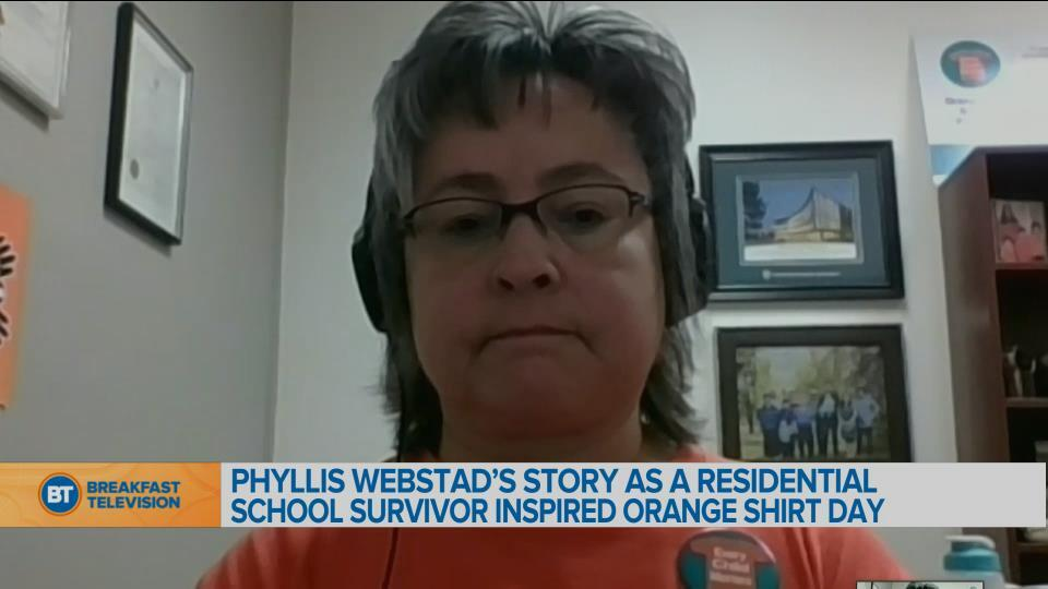 Phyllis Webstad's message to those honouring Orange Shirt Day