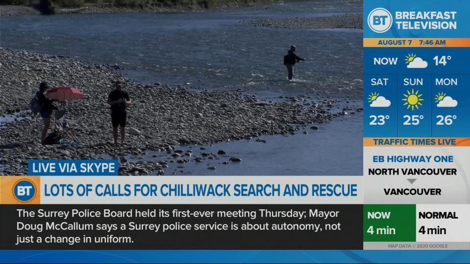 Busy times for Chilliwack SAR
