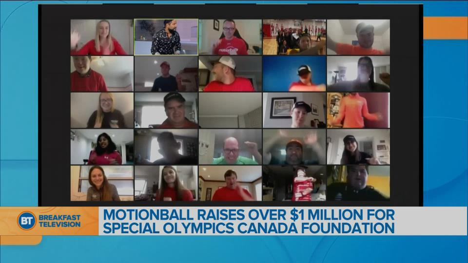 BT Bright Spot: Motionball raises over $1M for Special Olympics Canada Foundation