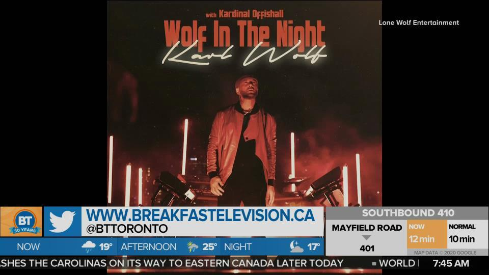 Karl Wolf drops new single 'Wolf in the Night'