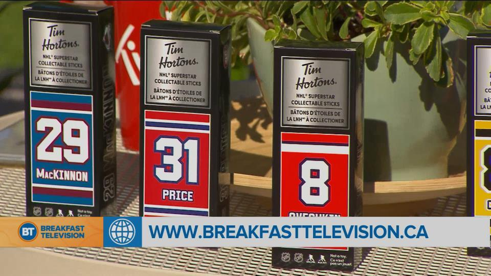 Tim Hortons limited edition NHL mini sticks