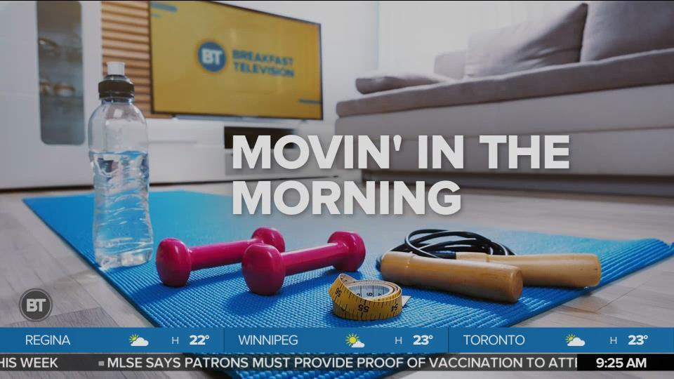 Movin' in the Morning: Wake up your body routine