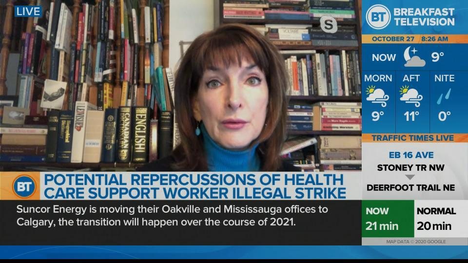 Healthcare workers ordered back to work following province wide strikes