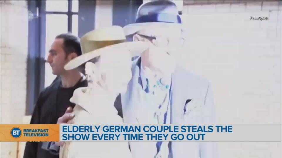 BT Bright Spot: Elderly German Fashionistas