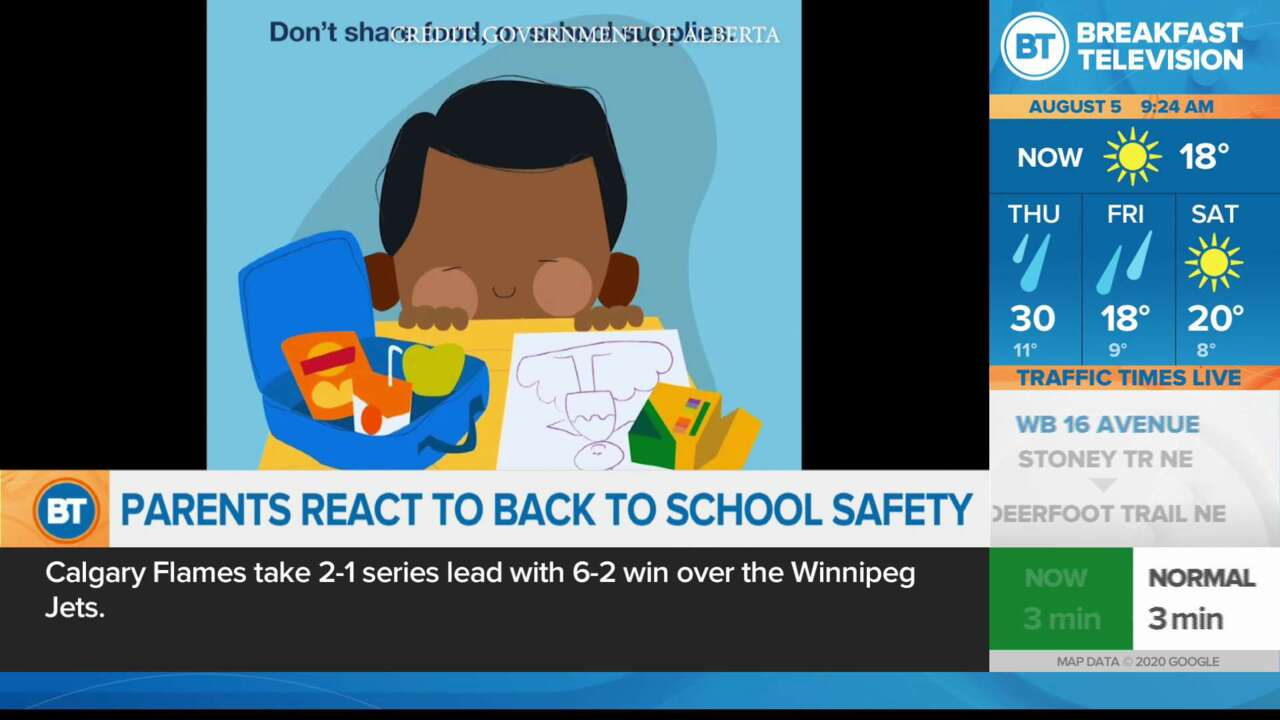 Parents react to Back to School Safety