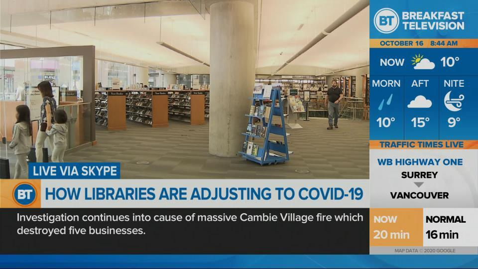 How libraries are adjusting to COVID-19