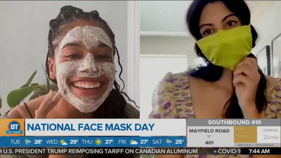 National Face Mask Day – DIY Recipe
